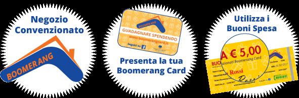 Boomerang in 3 semplici step