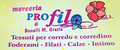 Logo Merceria Profilo di Bonelli M. Grazia
